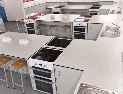 Completed Work: Winton Community Academy Food Technology Refurbishment